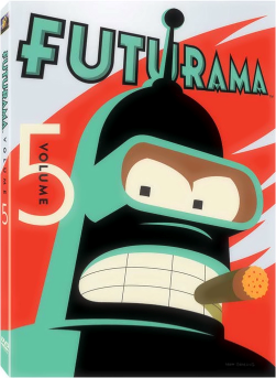 Futurama Staffel 5 Box
